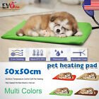 Temperature Control Soft Pet Heating Pad Heated Pet Bed Electric Warmer 50x50cm
