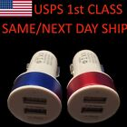 2X 2A 12W Dual Port Car USB Charger For iPhone 7 iPhone 6 Samsung Galaxy Tablets