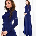Vintage Boho stile lungo Maxi Dress serata Party Beach Chiffon Abiti da donna