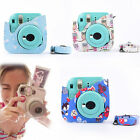Lovely Owl Camera Bag Case with Shoulder Strap for Fujifilm Instax Mini 8/8s New
