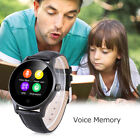 Waterproof K88H Bluetooth Smart Watch Sport Phone Mate SIM TF for Samsung iPhone