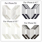 10x Front Middle Frame Bezel Holder Repair Parts With Glue For iPhone 4/5S/5G/6S