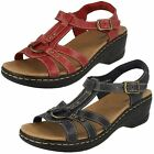 Clarks Ladies Casual Sandals - Odette Sumac