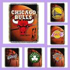 NBA Licensed Photo Real Tapestry Afghan Throw Blanket - Choose Your Team