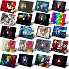 Colorful print Rubberized Hard Cut-out Case Cover For New MacbookPro Air Retina