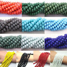 Wholesale 4/6/8/10mm New Rondelle Faceted Crystal Glass Loose Spacer Beads