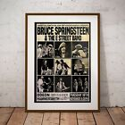 Springsteen 1975 First Ever London Concert Poster Print Two Sizes New Exclusive