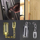 Premium Home Safety Door Security Lock Catch Latch Chain Lock With Screws