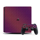 SopiGuard 3M Avery Carbon Fiber Brushed Matte Skin Full Body for Sony PS4 Slim