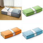 Zipped Clothes Duvet Clothing Pillow Under Bed Storage Organizer Bag Eager