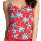 Freya Swim South Pacific Underwire Deep Plunge Tankini 3555 RED Various Sizes