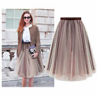 New Women Tutu Vintage Rockabilly Petticoat Ballet Tulle Girls Skirt Fancy Dress