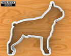 Boston Terrier Dog Cookie Cutter, Selectable sizes