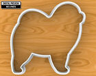 Chow Chow Dog Cookie Cutter, Selectable sizes