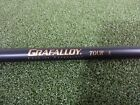 New Grafalloy Tour S,  X Black Graphite Golf Shaft. . With Adapter Options. .335