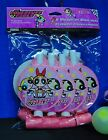 PowerPuff Girls Party Supplies Loot Hats Rings Banner Napkins Invites Loot Bags