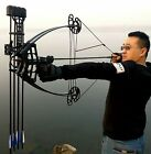 Pulley composite hunting bow hunting both general triangle car bows and arrows.