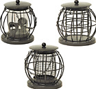 MINI LANTERN FEEDER - Squirrel Resistant Metal Hang Bird Seed Peanut Fat Ball kf