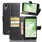 Flip Magnetic Card Slot Wallet PU Leather Case Stand Cover For Wiko U Feel GO