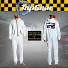 OFFICIAL BBC Top Gear I am the STIG Racing Driver Body/Jump Suit in WHITE
