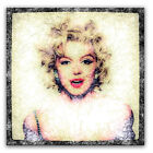 Marilyn Monroe Canvas or Poster Iconic Digital Art Available in 3 sizes