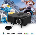 lcd projector portable - Portable LED/LCD Projector Home Theater Cinema AV VGA USB SD HDMI Multimedia LOT