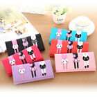 Cartoon Women Lady PU Leather Wallet Purse Long Card Holder Handbag Clutch Bag