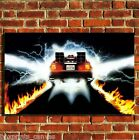 BACK TO THE FUTURE 80S CANVAS WALL ART BOX PRINT PICTURE SMALL/MEDIUM/LARGE