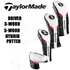 TaylorMade Driver, 3 or 5 Fairway Woods, Rescue/Hybrid,  Putter Headcovers