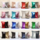 Mermaid DIY Glitter Sequins Throw Pillows Home Party Decorative Cushion Cover