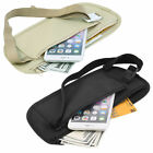 Travel Waist Hidden Pouch Security Money Waist Belt Sport Fanny Pack Bum Bag Us