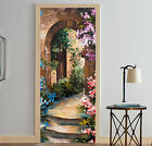 3D Entrance Flower Door Wall Mural Photo Wall Sticker Decal Wall AJ WALLPAPER AU