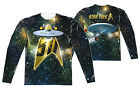"Star Trek TOS ""50th Ship"" Dye Sublimation Double Sided Long Sleeve Tee"