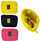 Travel Mesh Pouch Digital Cable Adapter Charger Storage Cosmetic Organizer Bag