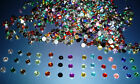 250 Rhinestones Gems Mixed in 14 Colours 4mm Round Clearance offer 5p start!!