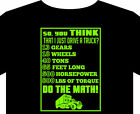 Trucker T Shirt up to 5XL truck driver Scania Mack DAF Mercedes Volvo cab gift