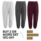 Kyпить MENS WOMENS UNISEX PLAIN SWEATPANTS 3 POCKET CASUAL JOGGERS FLEECE PANTS GYM на еВаy.соm