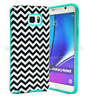 Heavy Duty Hybrid Rubber Rugged Hard Case Cover For Samsung Galaxy Note 5 Phone