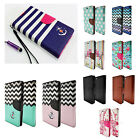 PU Leather Women Men Handbag Card Wallet Clutch Phone Case For iPhone 6 6plus