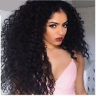 180% Brazilian Virgin Hair Pre Plucked Natural Hairline Glueless Curly Wig