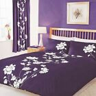 Chantilly Berry 3 Piece  Duvet Cover Set With Pillow cases All Sizes OR Curtains