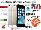 APPLE IPHONE 5S 16G/32G/64G (ATT/GSM UNLOCKED)ALL Grade No Contract A-21