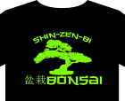 T shirt up to 5XL Bonsai tree Japanese art miniature plant pot clipper tools