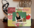 "4""x6"" PHOTO FRAME - Apple for Teacher - ADD TEXT FREE School Academics Gift"