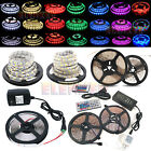 5m Smd 3528 5050 5630 7020 300leds Rgb White Led Strip Light 12v Power Supply Fc