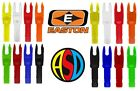 Easton Archery G Nocks 12PK Choose Groove Size & Colour !