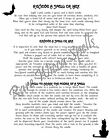 Curse Breaking Banishing Spells on 1pg for Wicca Book of Shadows Magick Pagan