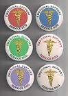 EMOTIONAL SUPPORT SERVICE DOG - service dog patch PIN button