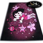 THICK RUGS 'PILLY' CARPETS ORIGINAL PURPLE STARS FAIRY FOR KIDS CHEAP Carpet