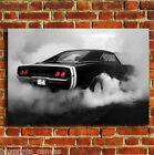 AMERICAN MUSCLE CAR CANVAS WALL ART BOX PRINT PICTURE POSTER SMALL MEDIUM LARGE